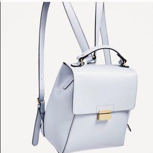 Zara Babyblue backpack